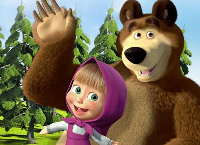клипы маша и медведь смотреть песенки слушать