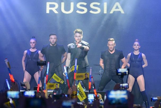 После «Евровидения-2016» Лазарев выступит с  концертом в Иркутске, Ангарске и Чите